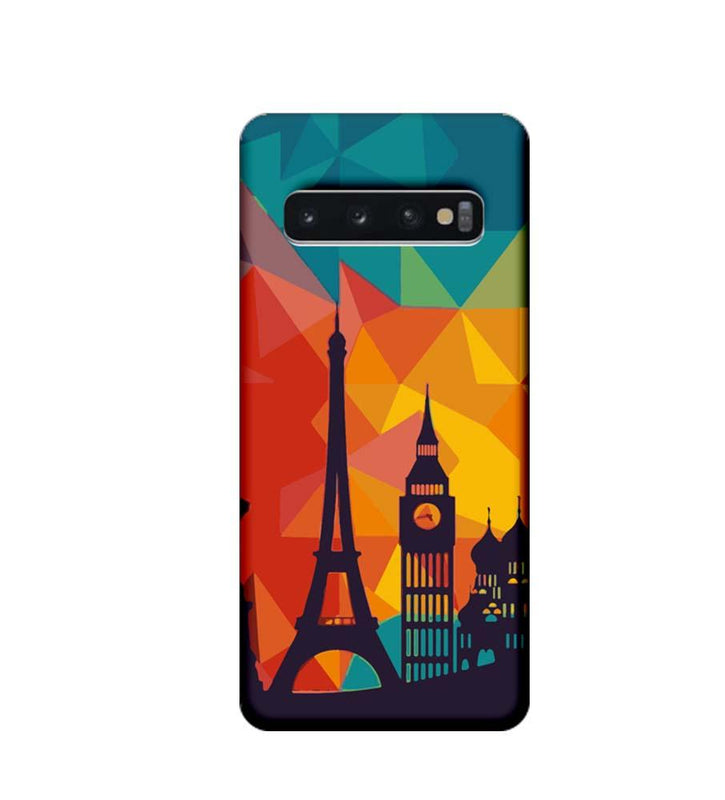 Samsung Galaxy S10 Plus Mobile Cover Printed Designer Case I Love Paris