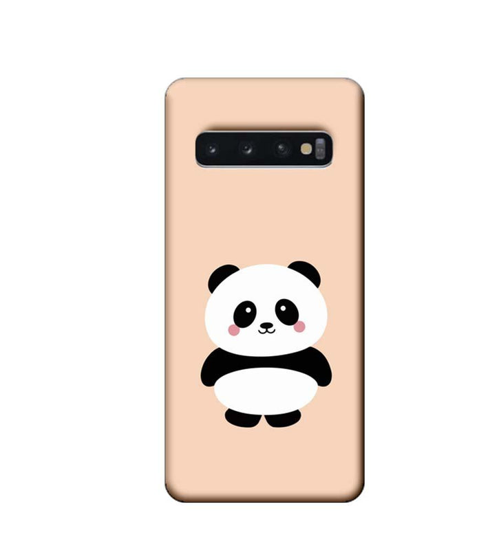 Samsung Galaxy S10 Plus Mobile Cover Printed Designer Case Cute Panda