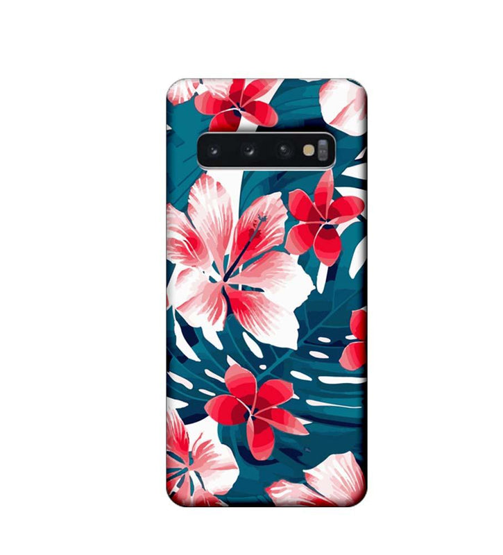 Samsung Galaxy S10 Plus Mobile Cover Printed Designer Case Florals