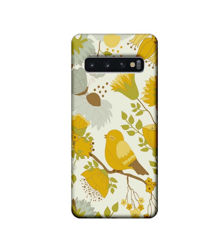 Samsung Galaxy S10 Plus Mobile Cover Printed Designer Case Bird Art
