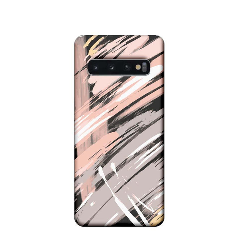 Samsung Galaxy S10 Plus Mobile Cover Printed Designer Case Brush Stroke