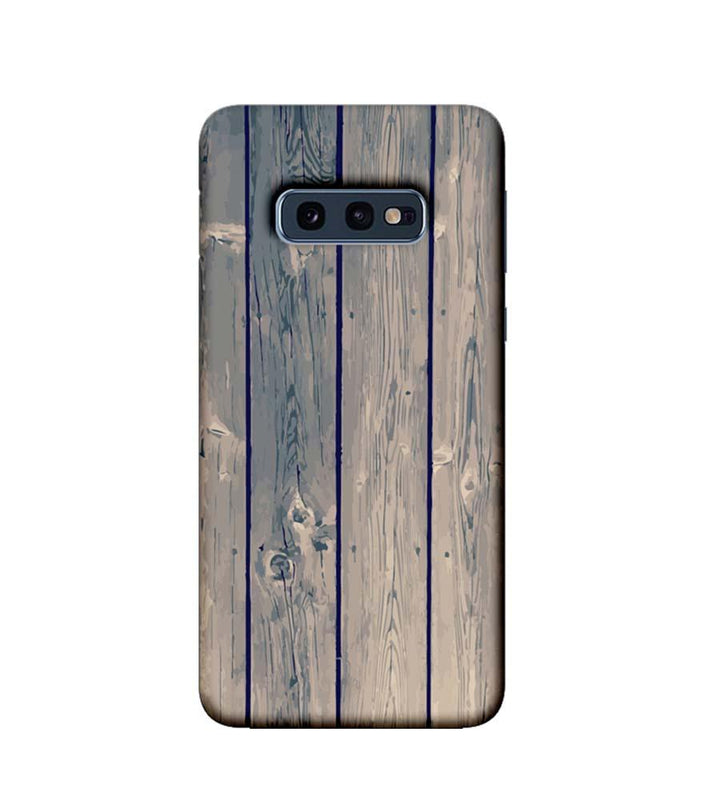 Samsung Galaxy S10e Mobile Cover Printed Designer Case Dust Wood