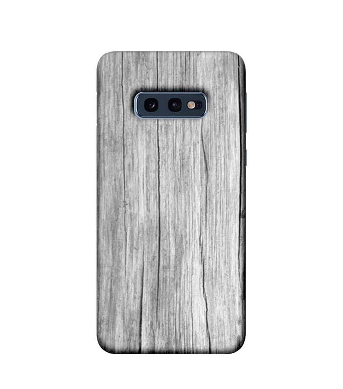 Samsung Galaxy S10e Mobile Cover Printed Designer Case White Dust Wood