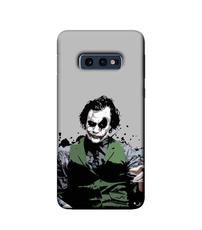 Samsung Galaxy S10e Mobile Cover Printed Designer Case Why So Serious Joker