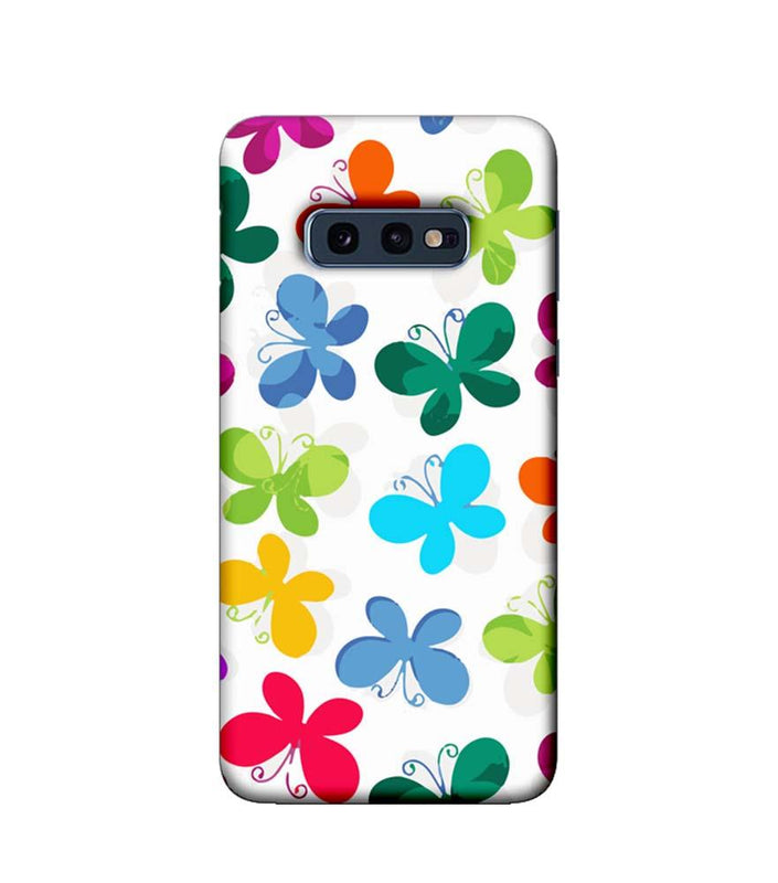 Samsung Galaxy S10e Mobile Cover Printed Designer Case Butterfly illustration