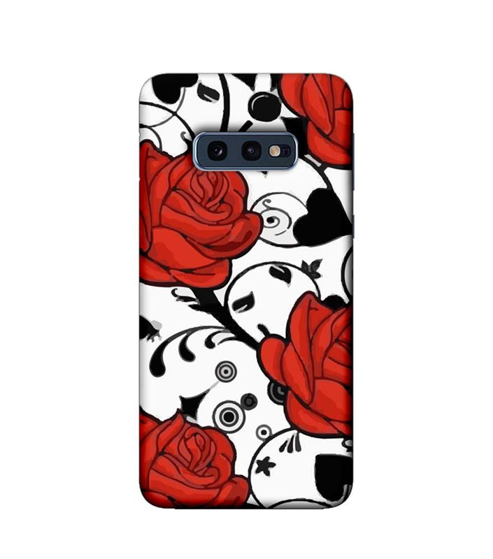 Samsung Galaxy S10e Mobile Cover Printed Designer Case Red Roses