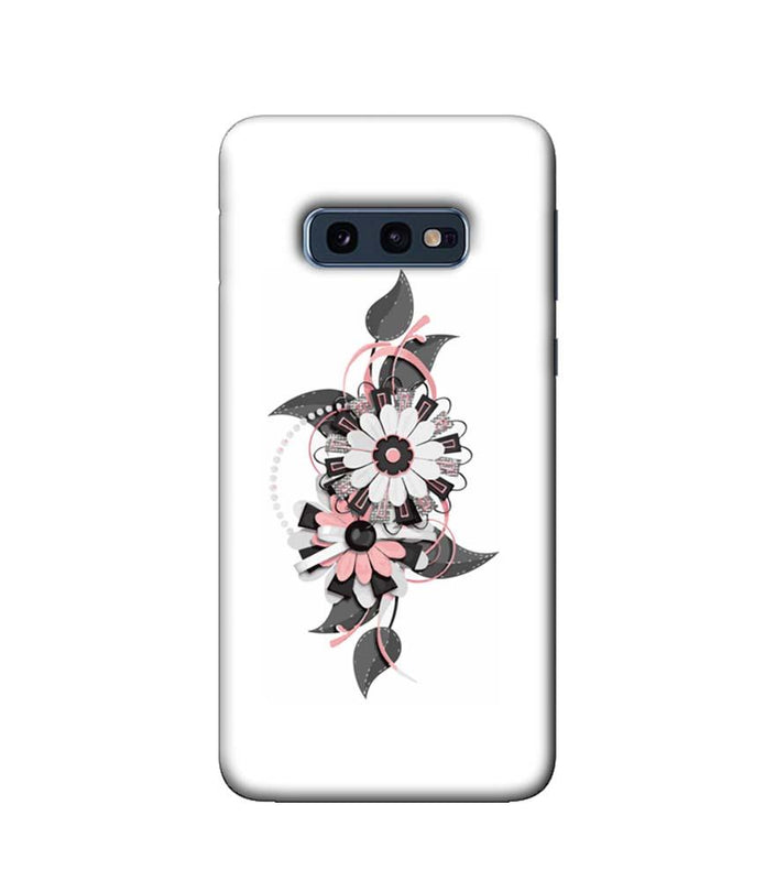 Samsung Galaxy S10e Mobile Cover Printed Designer Case Floral Pattern