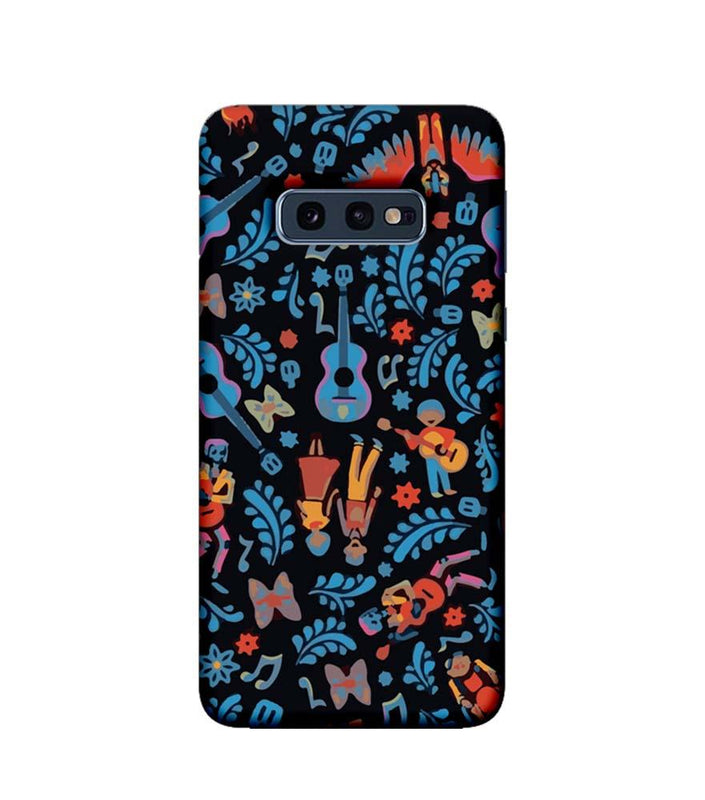 Samsung Galaxy S10e Mobile Cover Printed Designer Case Guitar Pattern