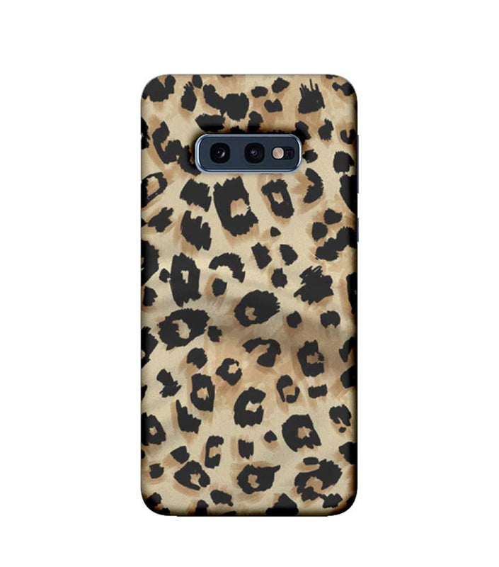 Samsung Galaxy S10e Mobile Cover Printed Designer Case Cheetah Patern