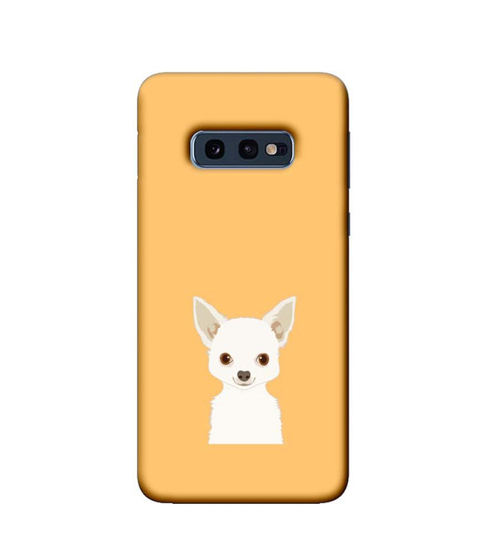 Samsung Galaxy S10e Mobile Cover Printed Designer Case Cute Puppy