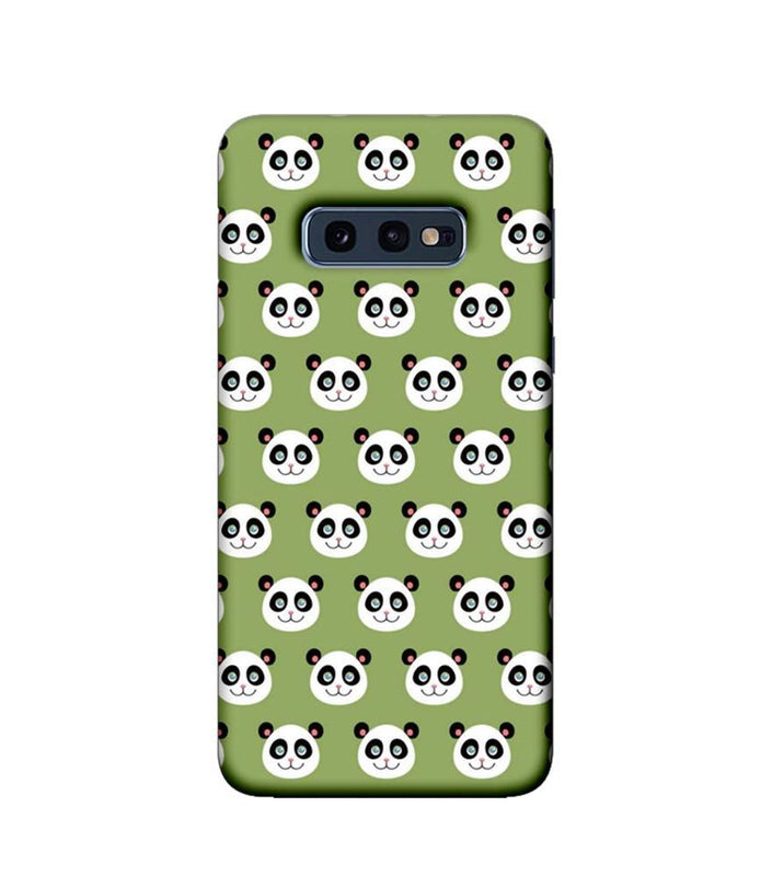 Samsung Galaxy S10e Mobile Cover Printed Designer Case Multiple Pandas