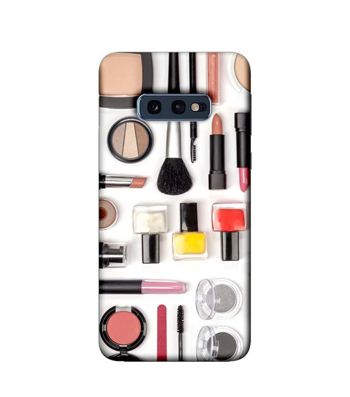 Samsung Galaxy S10e Mobile Cover Printed Designer Case Makeup Kit