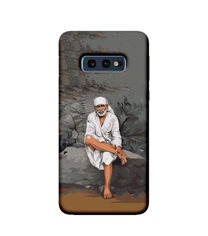 Samsung Galaxy S10e Mobile Cover Printed Designer Case Lord Sai Baba