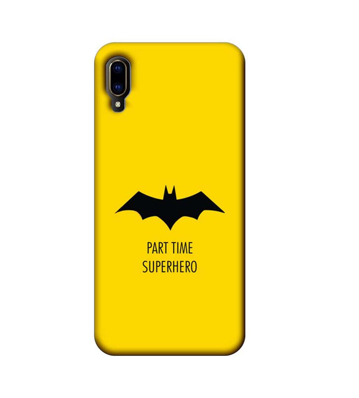 Vivo V11 Pro Mobile Cover Printed Designer Case Batman Logo
