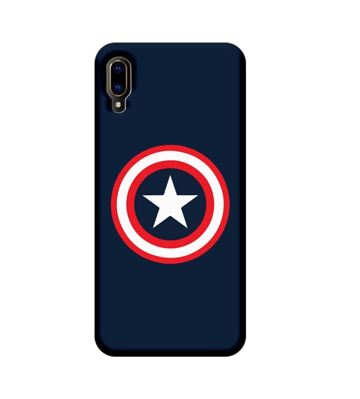 Vivo V11 Pro Mobile Cover Printed Designer Case Captain America illustration