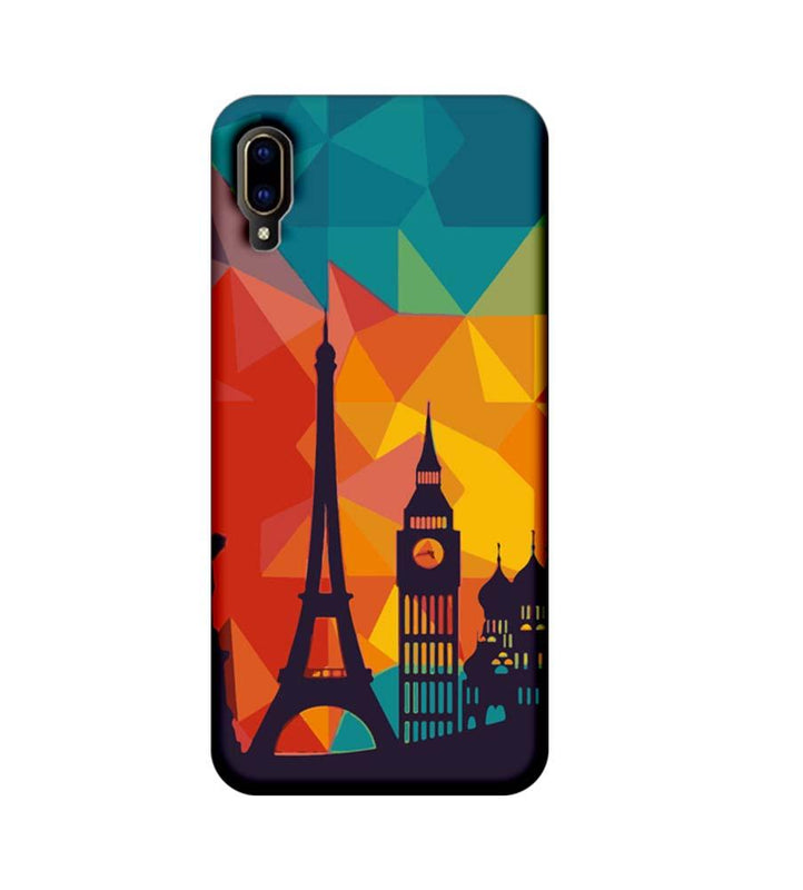 Vivo V11 Pro Mobile Cover Printed Designer Case I Love Paris