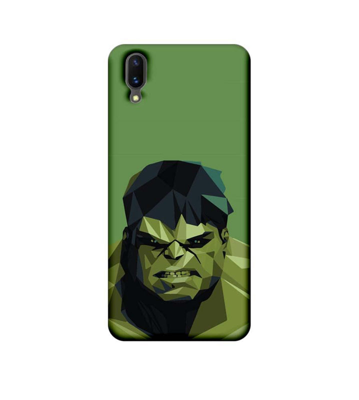 Vivo X21 Mobile Cover Printed Designer Case Angry Hulk