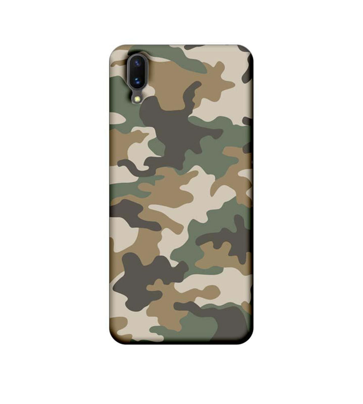 Vivo X21 Mobile Cover Printed Designer Case Military Pattern
