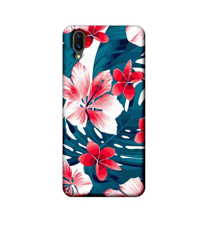 Vivo X21 Mobile Cover Printed Designer Case Florals