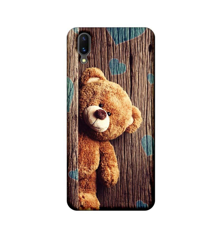 Vivo X21 Mobile Cover Printed Designer Case Teddy Bear
