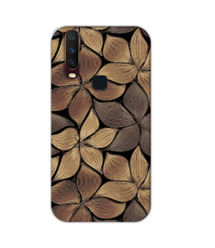 Vivo Y12 Mobile Cover Printed Designer Case Flower Art 2