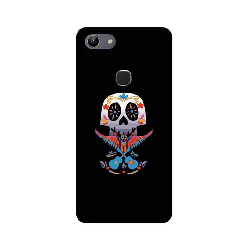 Vivo Y81 Mobile Cover Printed Designer Case Skull Guitar
