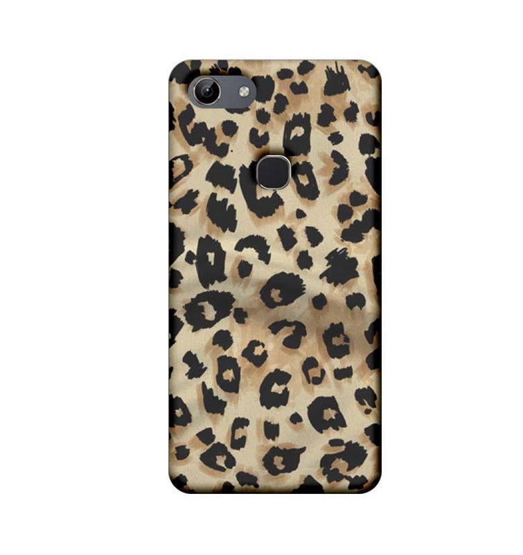 Vivo Y81 Mobile Cover Printed Designer Case Cheetah Patern