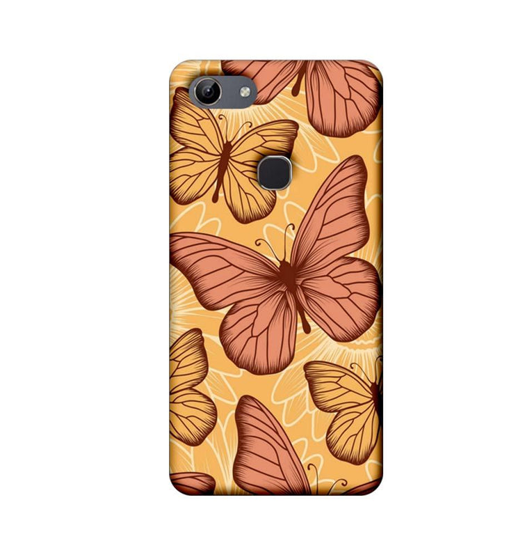 Vivo Y81 Mobile Cover Printed Designer Case Butterflies 2.0