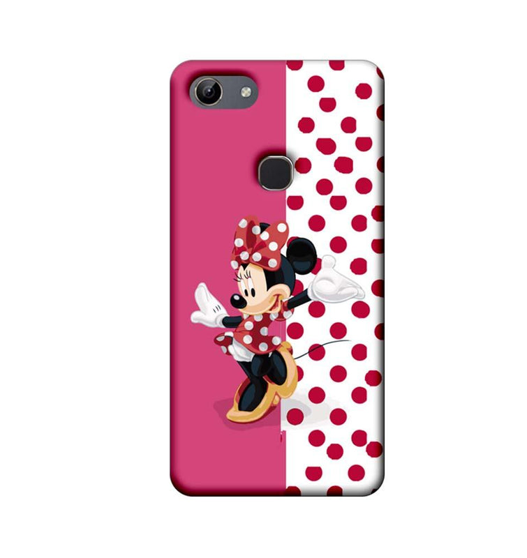 Vivo Y81 Mobile Cover Printed Designer Case Dotted Mickey Mouse