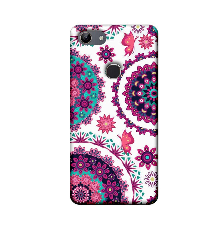 Vivo Y81 Mobile Cover Printed Designer Case Circle Pattern