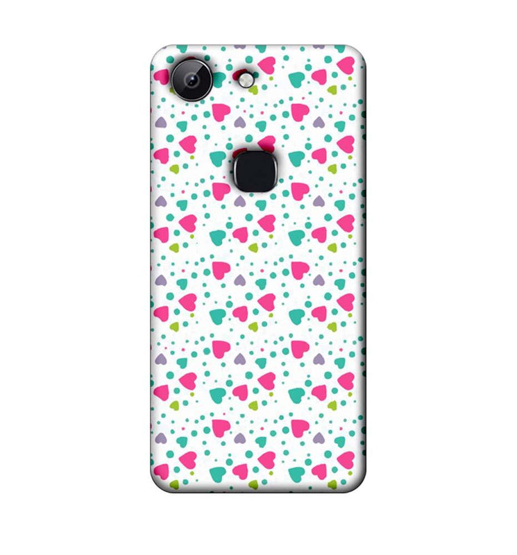 Vivo Y83 Mobile Cover Printed Designer Case Multi Hearts