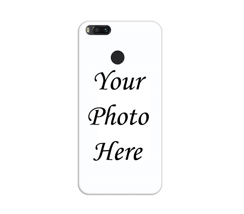 Xiaomi Mi A1 Back Cover Personalised Printed Case - www.crazywears.in