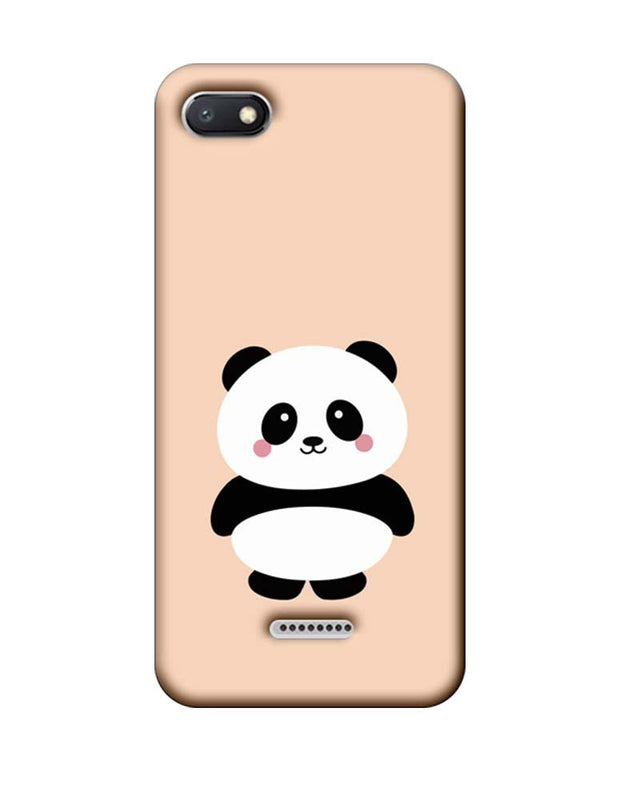 Xiaomi Redmi 6A Mobile Cover Printed Designer Case Cute Panda