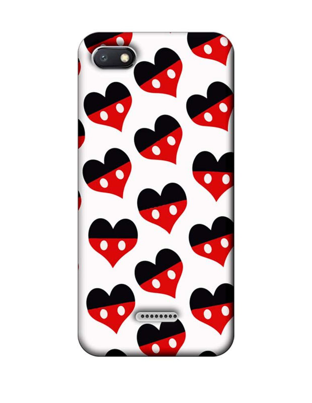 Xiaomi Redmi 6A Mobile Cover Printed Designer Case Mickey Mouse Art