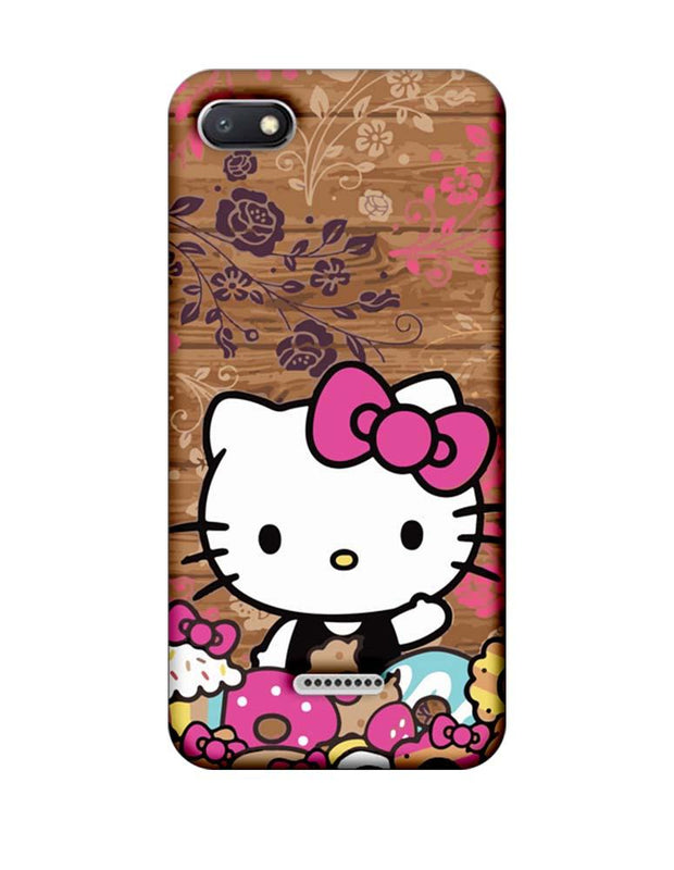 Xiaomi Redmi 6A Mobile Cover Printed Designer Case Hello Kitty 3.0