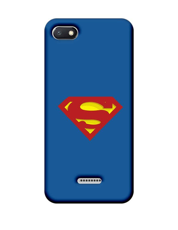 Xiaomi Redmi 6A Mobile Cover Printed Designer Case Superman Logo