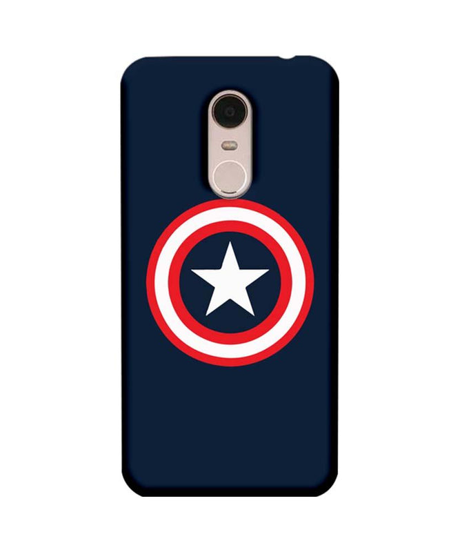 Xiaomi Redmi Note 5 Mobile Cover Printed Designer Case Captain America illustration