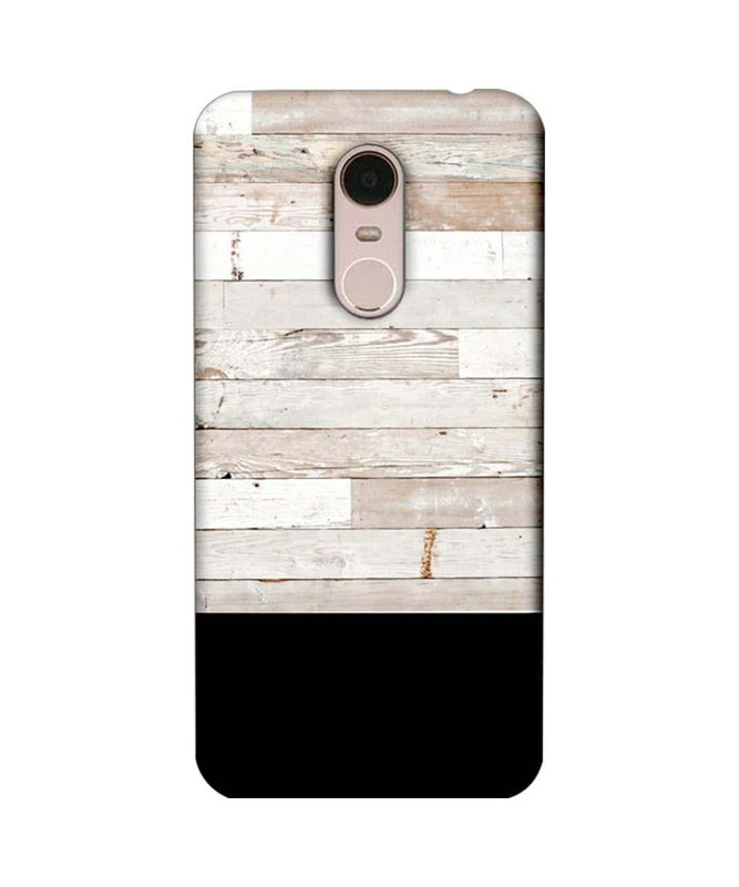 Xiaomi Redmi Note 5 Mobile Cover Printed Designer Case Black and White Wood