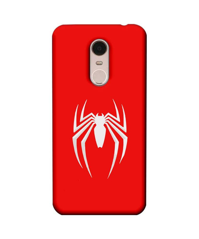 Xiaomi Redmi Note 5 Mobile Cover Printed Designer Case Spiderman Logo