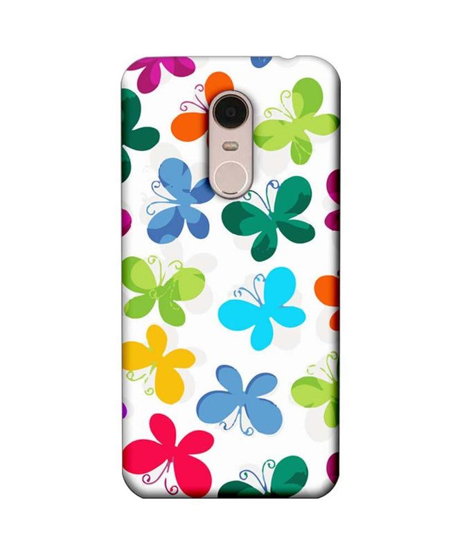 Xiaomi Redmi Note 5 Mobile Cover Printed Designer Case Butterfly illustration