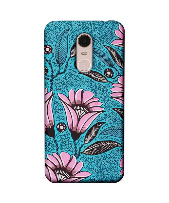 Xiaomi Redmi Note 5 Mobile Cover Printed Designer Case Pinkish Floral