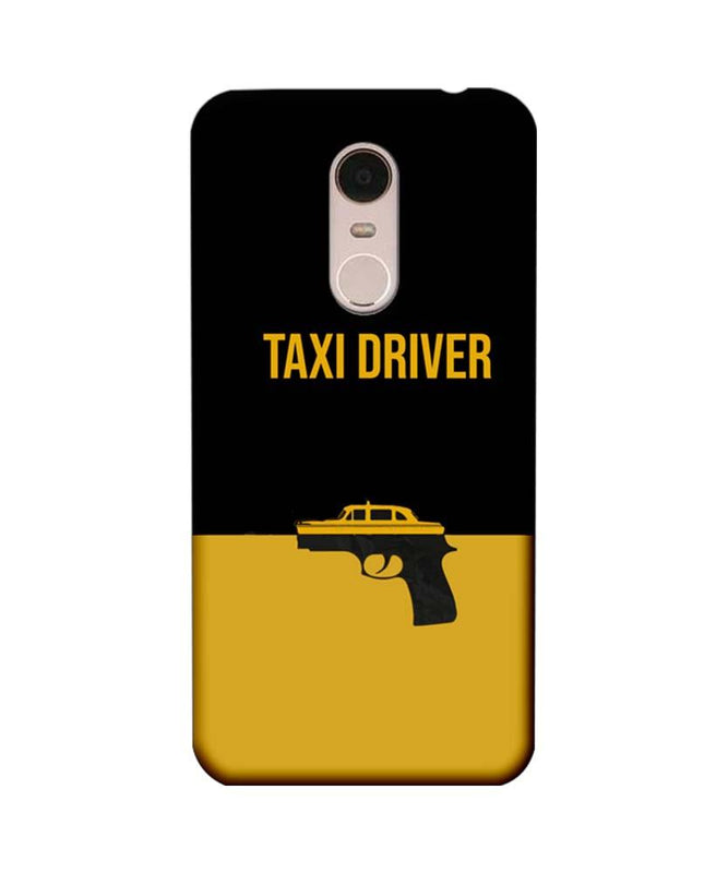 Xiaomi Redmi Note 5 Mobile Cover Printed Designer Case Taxi Driver