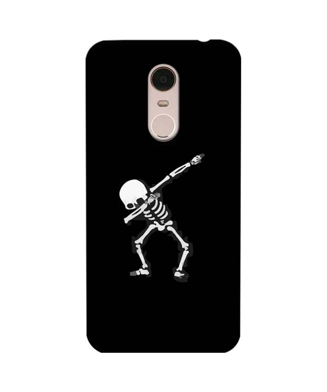 Xiaomi Redmi Note 5 Mobile Cover Printed Designer Case Dancing Skull