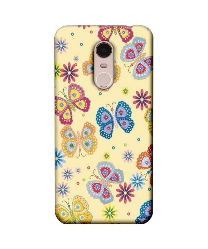 Xiaomi Redmi Note 5 Mobile Cover Printed Designer Case Butterflies