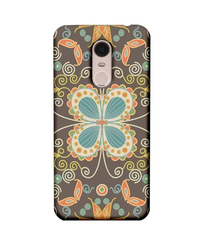 Xiaomi Redmi Note 5 Mobile Cover Printed Designer Case Butter Fly illustrator
