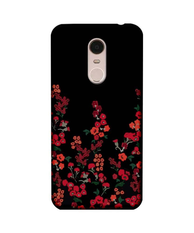 Xiaomi Redmi Note 5 Mobile Cover Printed Designer Case Floral One