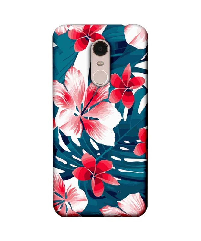 Xiaomi Redmi Note 5 Mobile Cover Printed Designer Case Florals