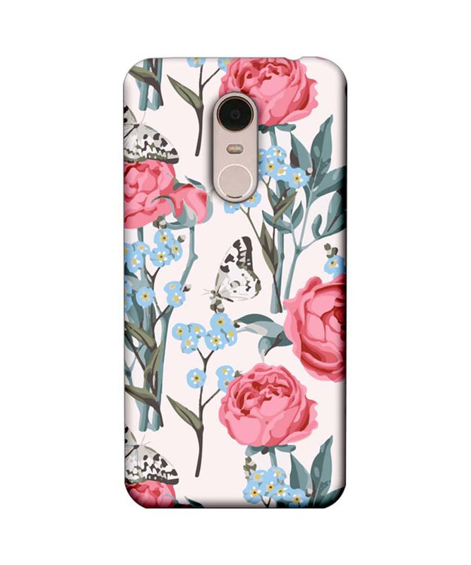 Xiaomi Redmi Note 5 Mobile Cover Printed Designer Case Pink Roses