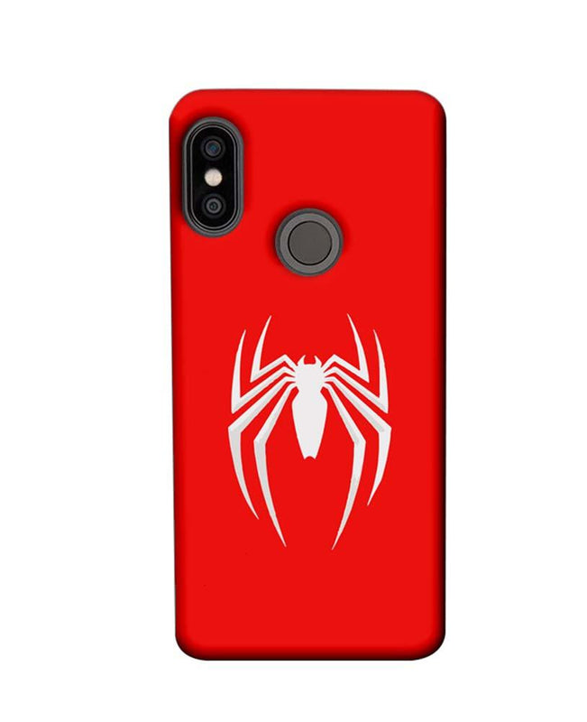 Xiaomi Redmi Note 5 Pro Mobile Cover Printed Designer Case Spiderman Logo