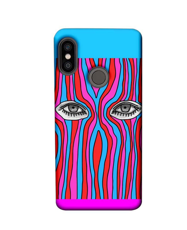 Xiaomi Redmi Note 5 Pro Mobile Cover Printed Designer Case Eyes